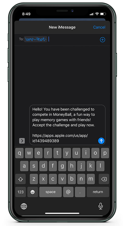 Brag About Your Gaming Via Messaging in MoneyBall Mind Training Game