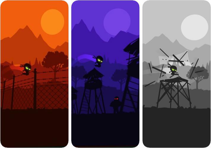 Breakout Ninja iPhone and iPad Game Screenshot