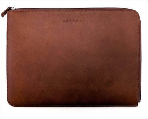 Brydge Leather Sleeve for iPad Pro 11-inch 4th Gen