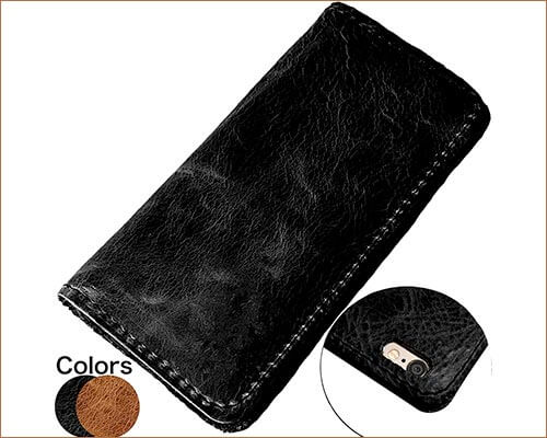 Bull Run Leather Goods iPhone 6, 6s, 7, and 8 Handmade Leather Case