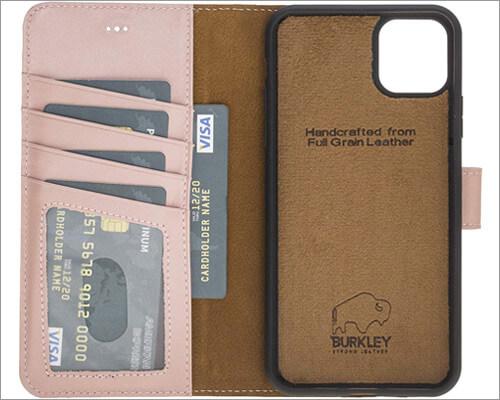 Burkley iPhone 11 Pro Max Magnetic Folio Case