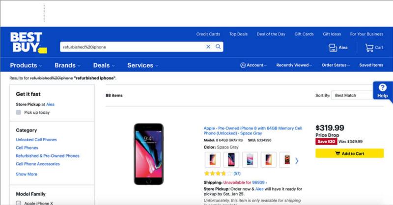 Buy Refurbished iPhone at Best Buy