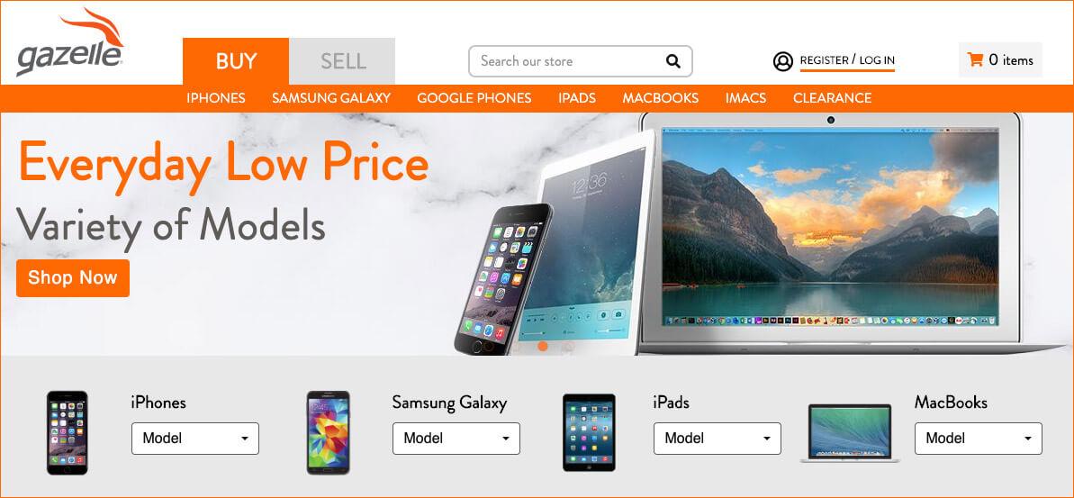 Buy Used iPhone, iPad, MacBook