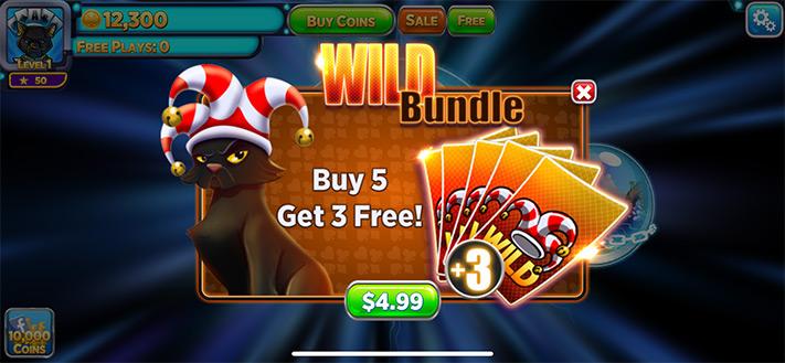 Buy Wild Bundle in Solitaire Time Warp Game