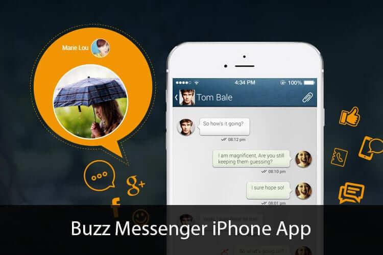 Buzz Messenger iPhone App