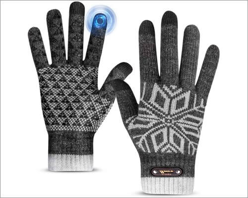 Bymore touchscreen gloves for iPhone and iPad