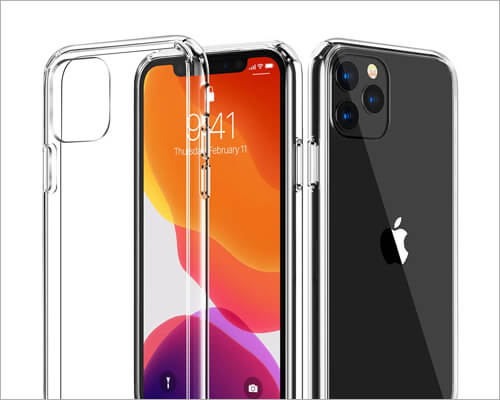 CASEKOO Slim Bumper Case for iPhone 11 Pro Max