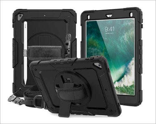 CASZONE Kickstand Case for 10.2 inch iPad