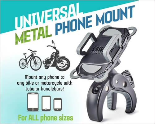 CAW.CAR Accessories Metal bike mount for iPhone 11 Pro Max
