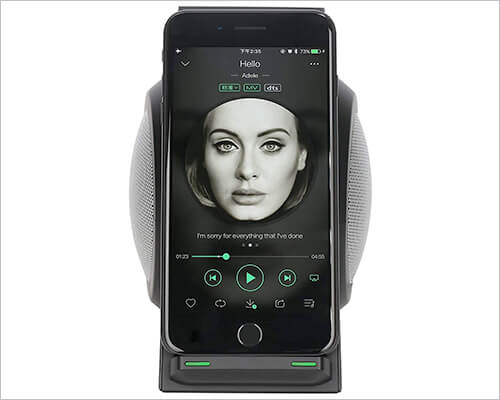 CENSHI Docking Station with Speakers for iPhone Xs, Xs Max, and iPhone XR