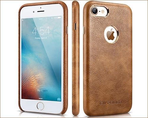 CIVPOWER iPhone 8 Leather Case