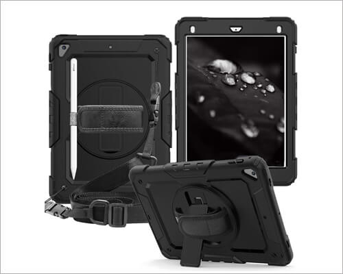 CLARKCAS Heavy-Duty Case for iPad 10.2-inch