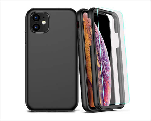 COOLQO Wireless Charging Soft Case for iPhone 11