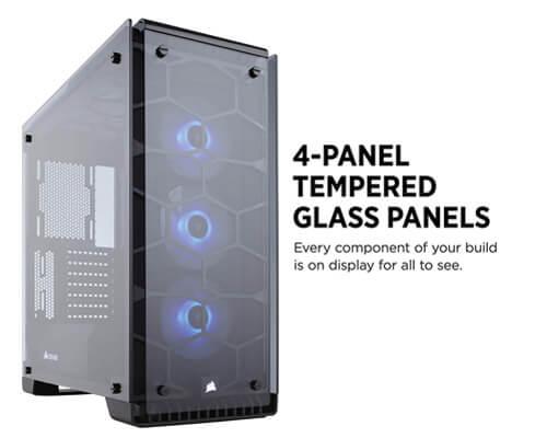 CORSAIR Crystal 570X RGB Mid-Tower Gaming Case