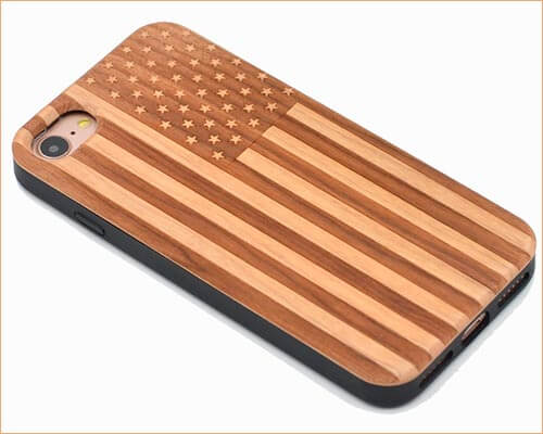 CYD iPhone 6, 6s, 7, and iPhone 8 Handmade Wooden Case