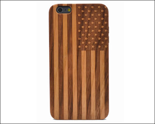CYD iPhone 6, 6s Plus Wooden Case