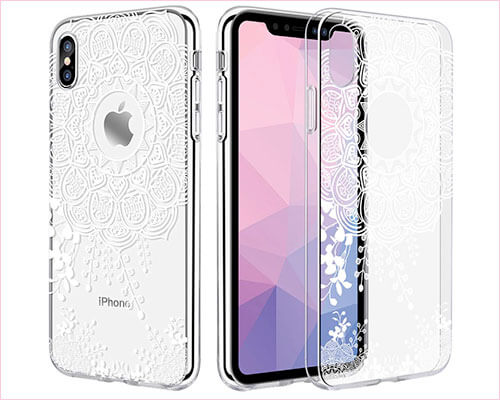 Caka iPhone X-Xs Case for Girls