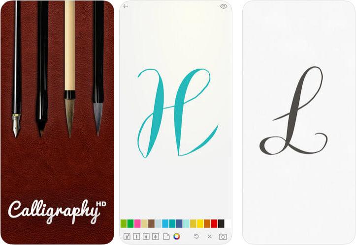 Calligraphy HD iPhone and iPad App Screenshot