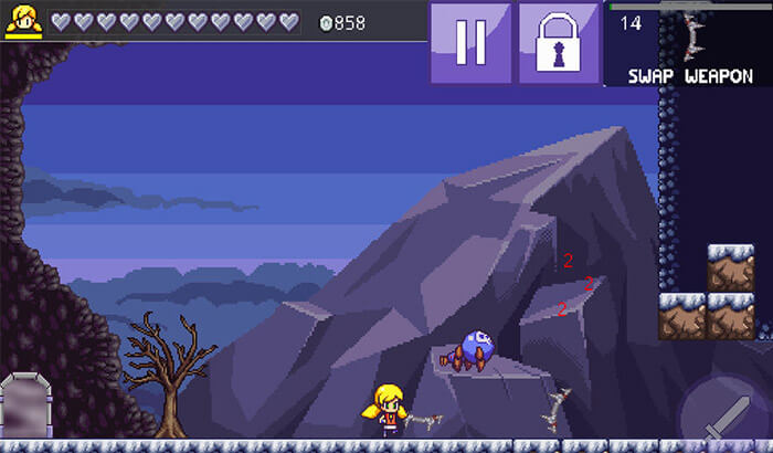 Cally's Caves 3 iPhone and iPad Game Screenshot