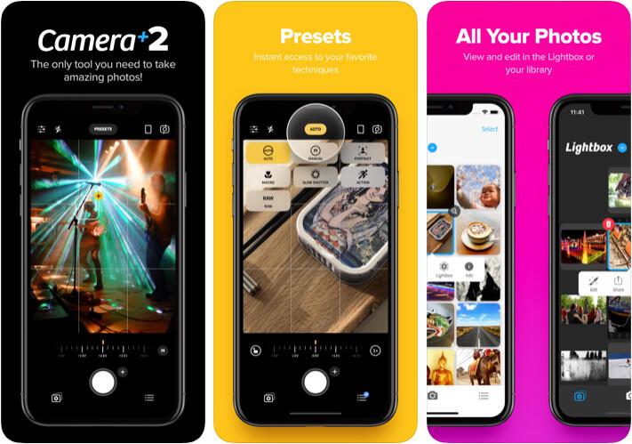 Camera Plus 2 iPhone App Screenshot