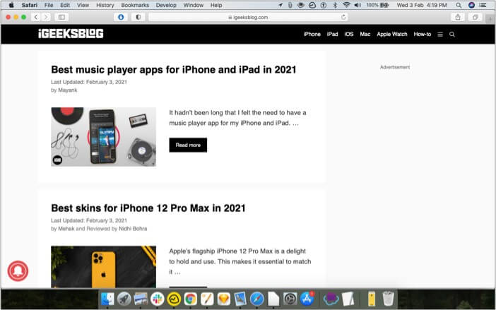 Can not see tab bar when you have just one tab open in safari