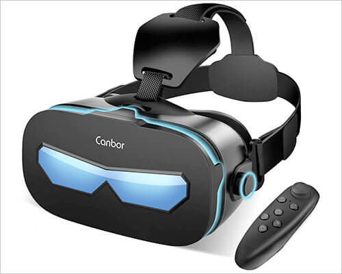 Canbor VR Headset for iPhone X, 8, and iPhone 8 Plus