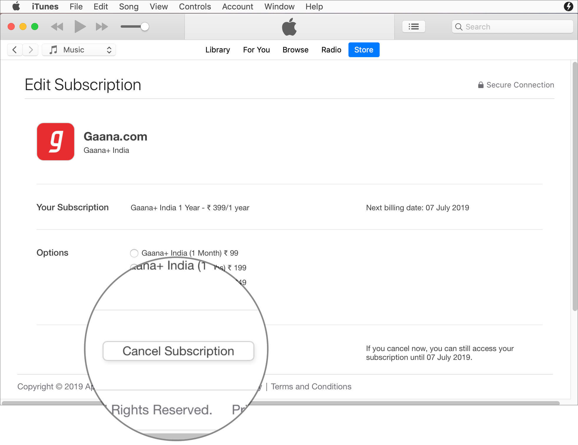 Cancel App Subscription on Mac