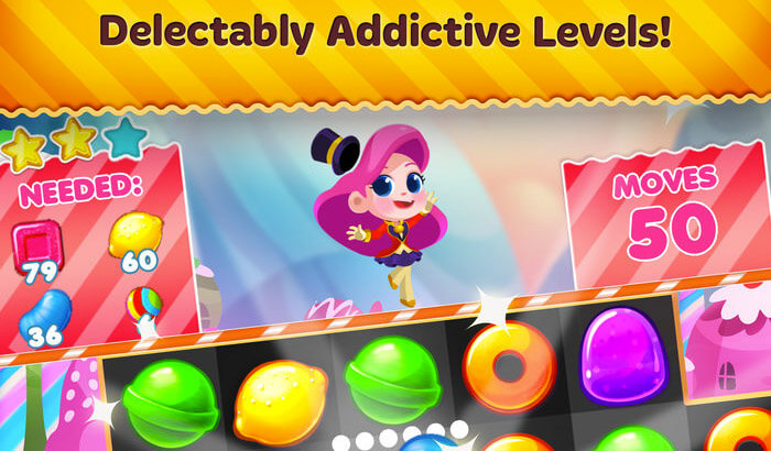 Candy Blast Mania Puzzle iPhone and iPad Game Screenshot