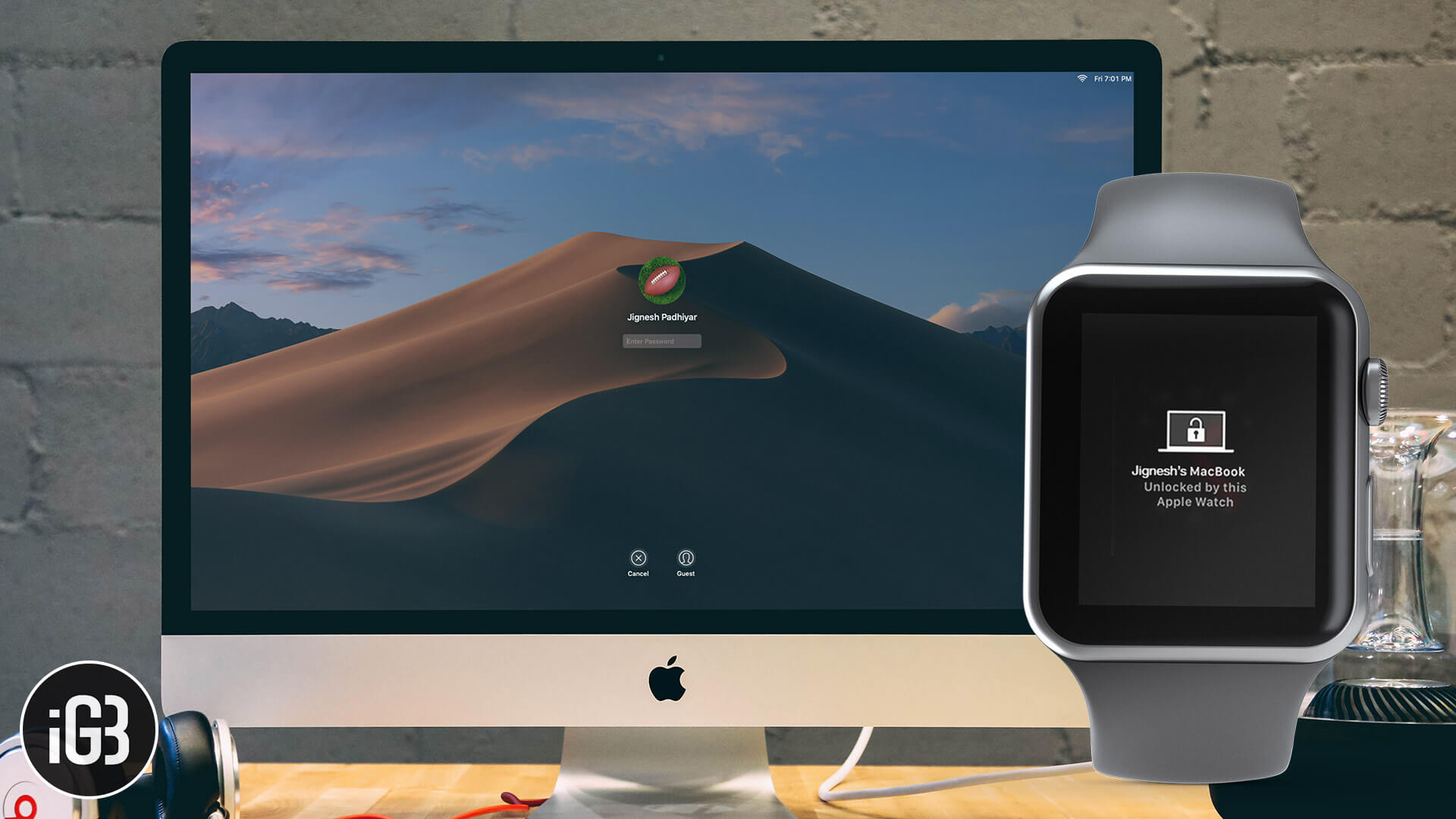 Cannot Unlock Mac with Apple Watch