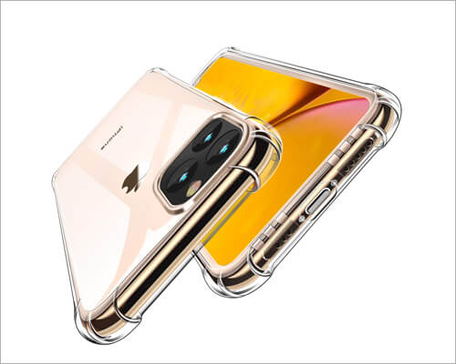 Canshn iPhone 11 Pro Max Heavy Duty Clear Case