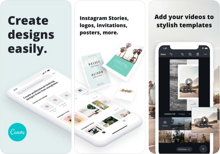 Canva Marketer App for iPhone and iPad
