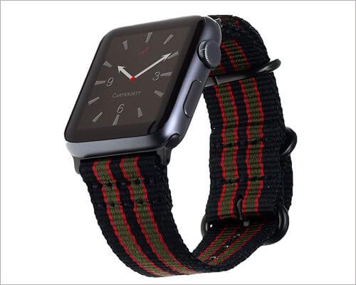 Carterjett Apple Watch Series Nylon Band