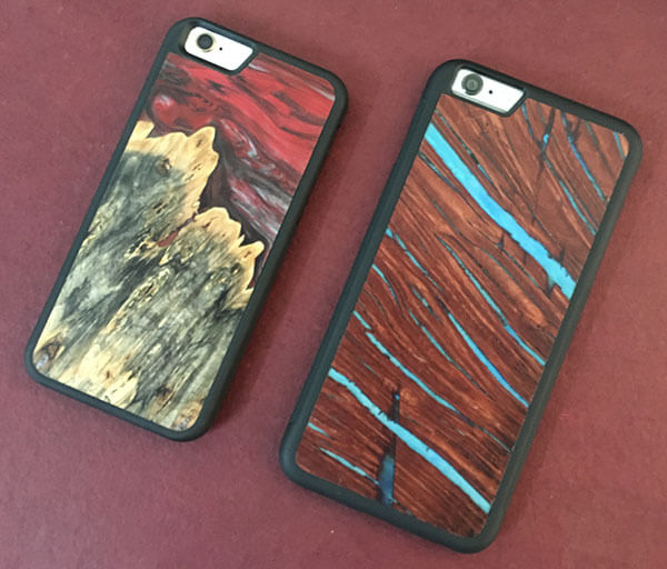 Carved Wooden Cases for iPhone 6s and 6s Plus