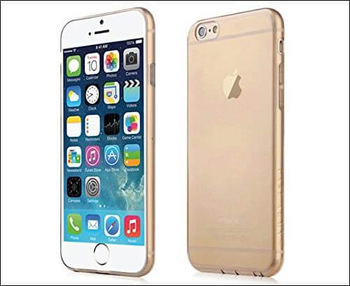 Case Army iPhone 6s Plus Transparent Case