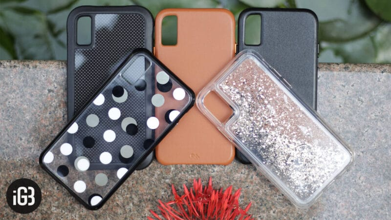 Case-Mate Cases for iPhone Xs Max, Xs, and iPhone XR