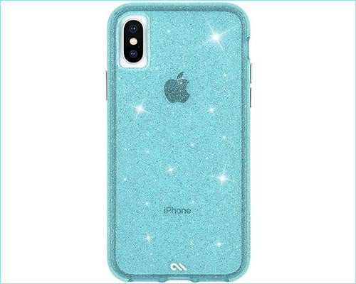 Case-Mate SHEER CRYSTAL Designer Case for iPhone Xs