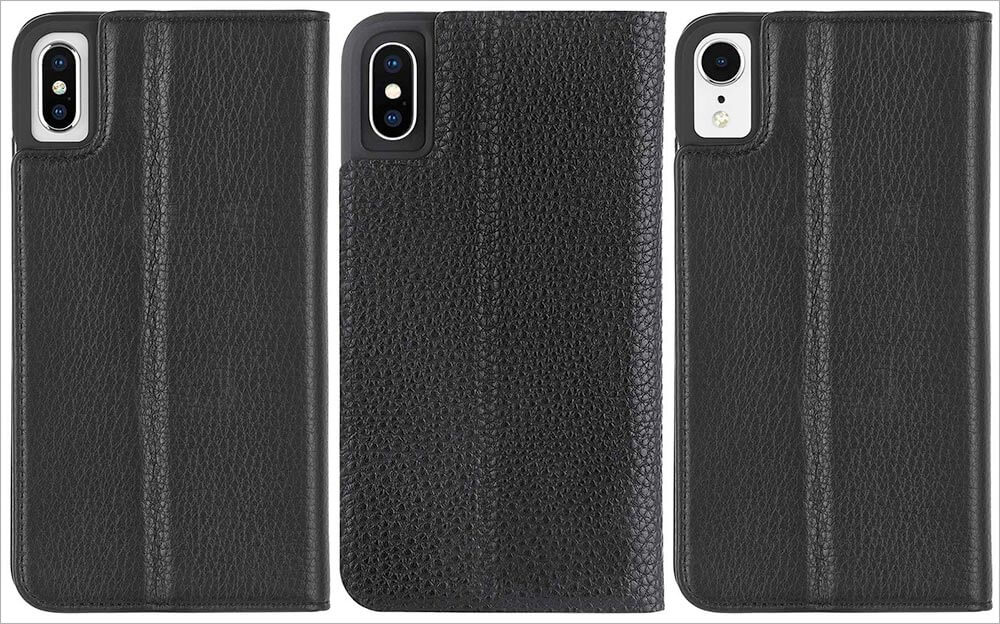 Case Mate WALLET FOLIO iPhone Xs Max, Xs, and iPhone XR Cases
