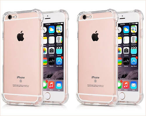 CaseHQ iPhone 6s Plus Clear Case