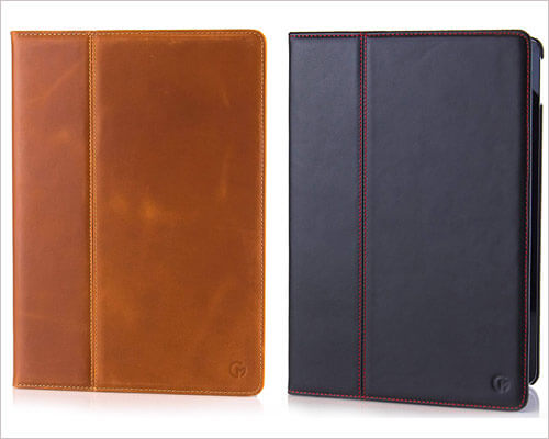 CaseMade iPad 2018 Leather Folio Case