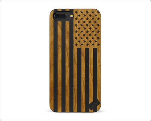 CaseYard iPhone 8 Plus Wooden Case