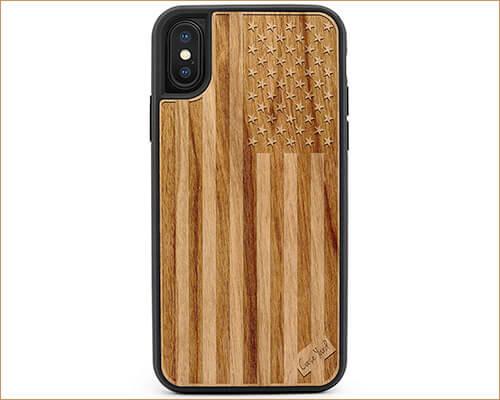 CaseYard iPhone Xs Wooden Case