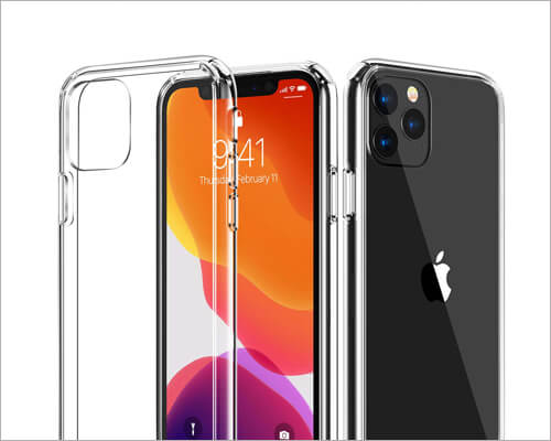 Casekoo iPhone 11 Pro Max Clear Case