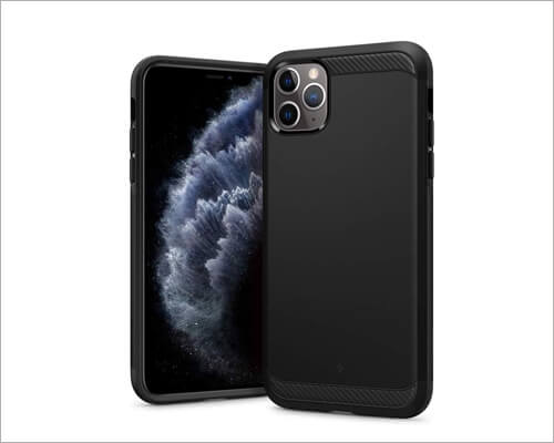 Caseology Matte Black Executive Case for iPhone 11 Pro