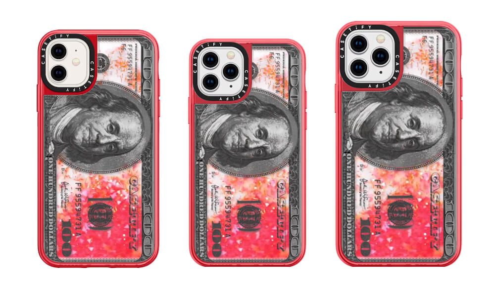 Casetify-$100-Bill Pattern Case for iPhone 11 Pro Max