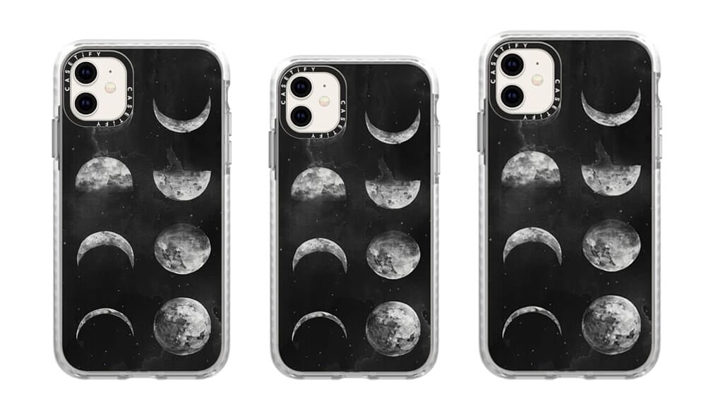 Casetify Moon-Phases Pattern Case for iPhone 11 Pro Max