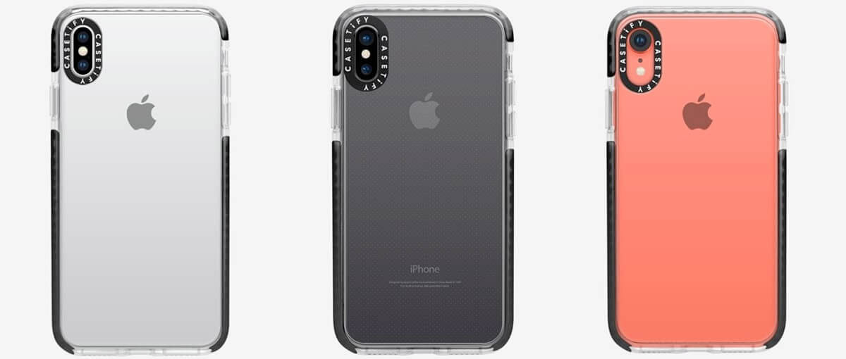 Casetify Nude Designs iPhone Xs Max, Xs, and iPhone XR Clear Cases