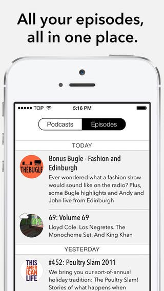Castro iPhone App