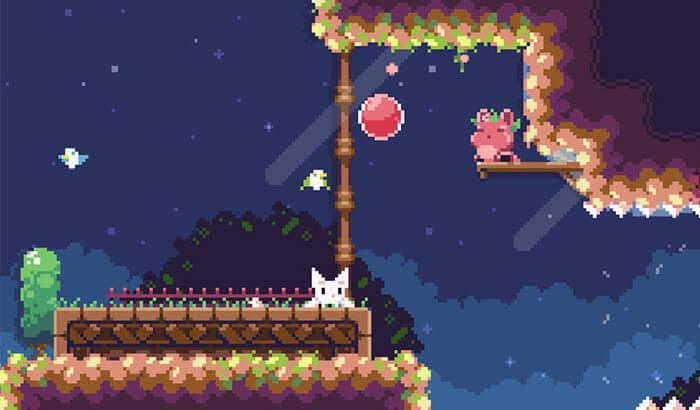 Cat Bird iPhone and iPad Game Screenshot