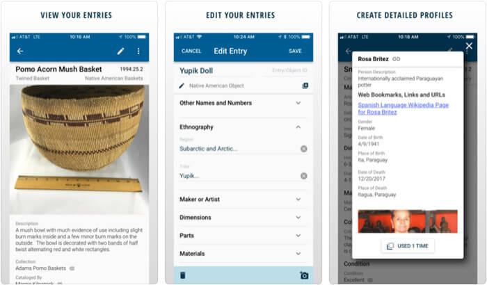 CatalogIt iPhone and iPad App Screenshot