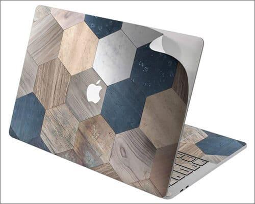 Cavka Wooden Design Tile Print Skin for 16 inch MacBook Pro